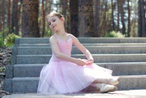 バレエの発表会がありました